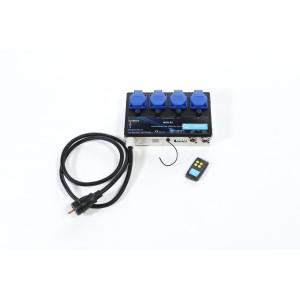 Gradateur 4 circuits avec télécommande