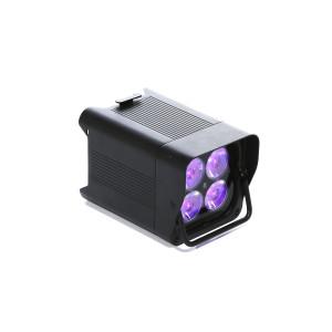 Lot de 6 projecteurs autonome LED RGB