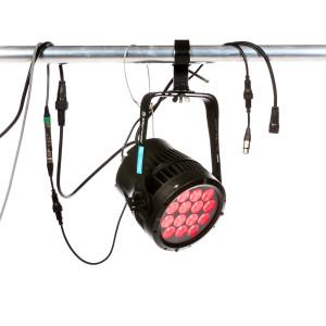 Lot de 4 projecteurs LED RGBW