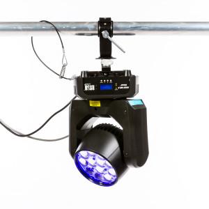 Lot de 4 projecteurs LED RGBW - RUSH MH6