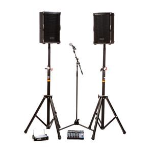 Kit de sonorisation 2 enceintes et 1 micro