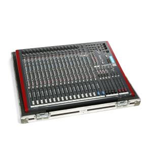 Console 16 entrées - 2 sorties - 6 aux ZED420