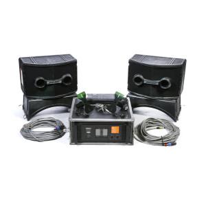 Ensemble de 2 x Enceintes Bose 802 avec ampli