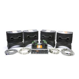 Ensemble de 4 x enceintes Bose 802 avec ampli
