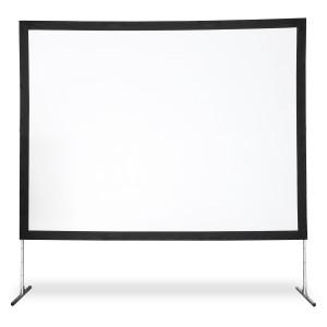 Ecran 229 cm x 305 cm - toile blanche
